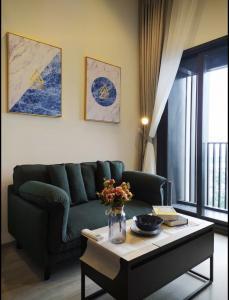 เช่าคอนโดอ่อนนุช อุดมสุข : For Rent The Line สุขุมวิท 101 ชั้นสูง วิวแม่น้ำ @JST Property.