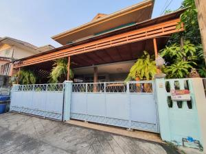 ขายบ้านพระราม 5 ราชพฤกษ์ บางกรวย : บ้านเดี่ยว 2 ชั้น 52 ตรว. บางสีทอง บางกรวย นนทบุรี