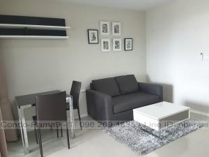 For RentCondoRama9, RCA, Petchaburi : RENT !! Condo Aspire, MRT Rama 9, 1 Bed, Tower A, Floor 16, Area 39 sq.m., Rent 16,000 Baht