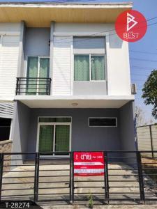 For SaleTownhouseSamrong, Samut Prakan : Sell townhome behind the corner. Gusto Teparak Village, Samut Prakan