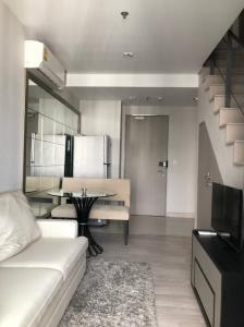 For RentCondoOnnut, Udomsuk : FOR RENT : Ideo Mobi Sukhumvit 1 bedroom duplex only THB 24,000.-