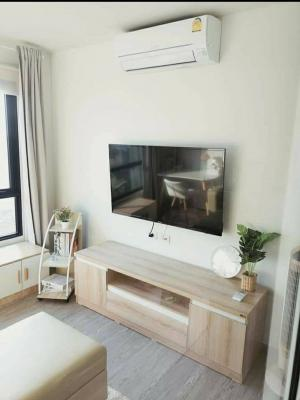 For RentCondoVipawadee, Don Mueang, Lak Si : 💕 For rent, new condo, unboxing, room width 31 sq m, Reach Phaholyothin 52, beautiful decoration, 1 bedroom, can go