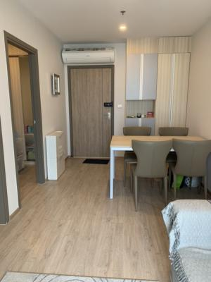 For SaleCondoBangna, Lasalle, Bearing : Sell at a loss! Ideo O2 BTS Bangna 2 bed, Building B, 28th floor, corner room, 46.8 sq m, price 5,380,000 baht, fully fluffed, free of charge on the transfer date