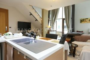 For SaleCondoSukhumvit, Asoke, Thonglor : Condo for sale The Emporio Place size 90 Sq.m 1 bed 1 bath Duplex price only 12 MB !!!