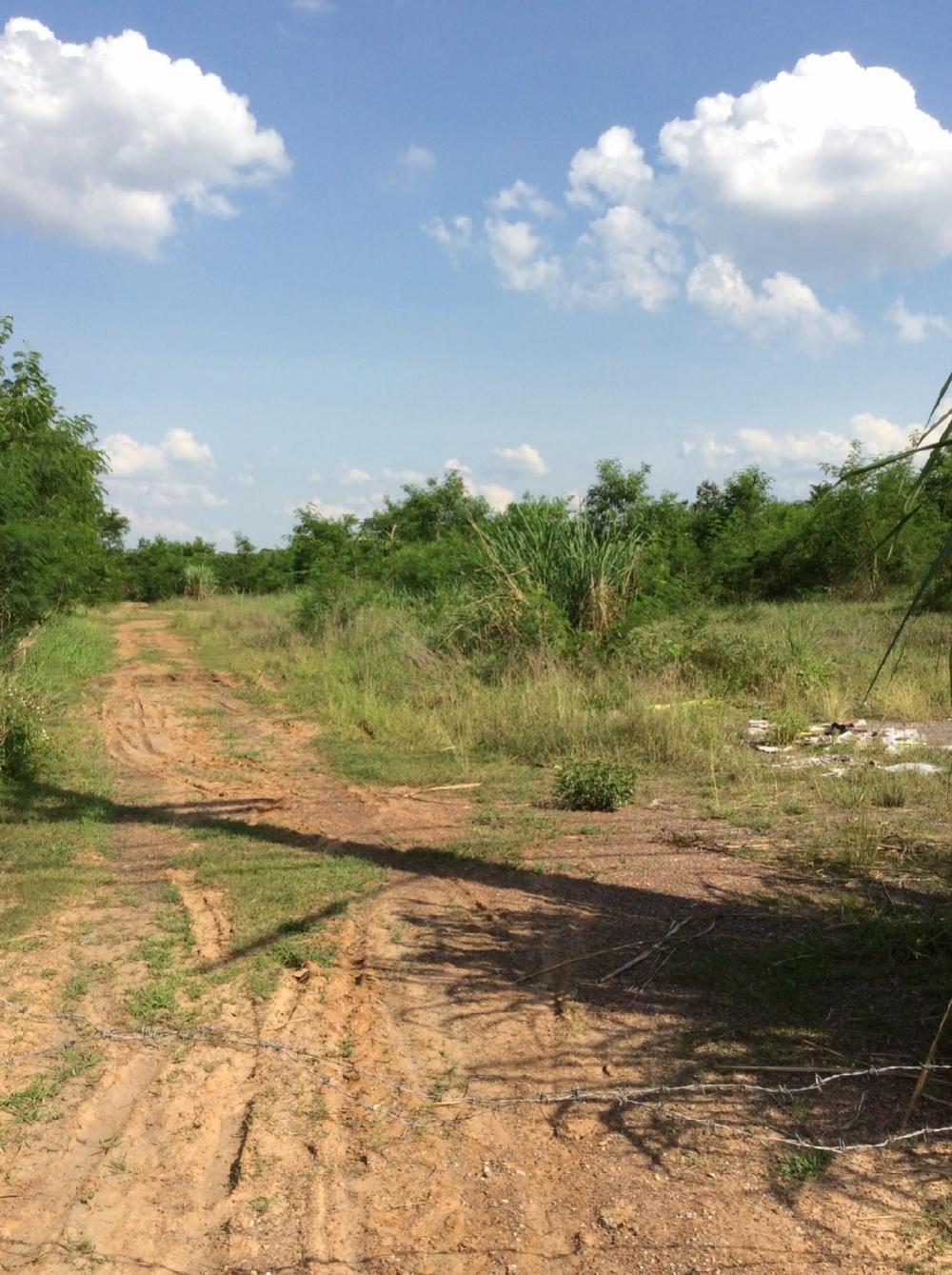 ขายที่ดินอุดรธานี : ขายที่ดินสวยติดถนนใหญ่ 24ไร่ หน้าที่ดินกว้าง80เมตร ลึก500เมตร ติดอ่างเก็บน้ำห้วยหินลาด