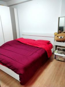 For SaleCondoBangna, Lasalle, Bearing : Cheap sale, beautiful room, City Home Srinakarin Condo, 9th floor, beautiful view, ready-made room, only 1.2 MB (S1874)
