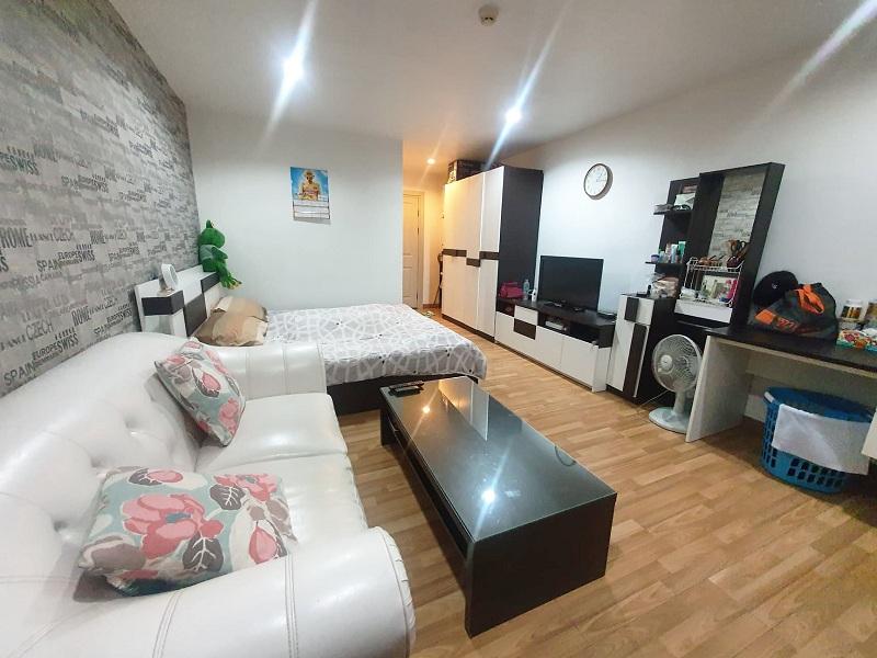 For RentCondoOnnut, Udomsuk : Regent Home 14 fully furnished + City view (near BTS On-nut, Wells International School, Expressway)