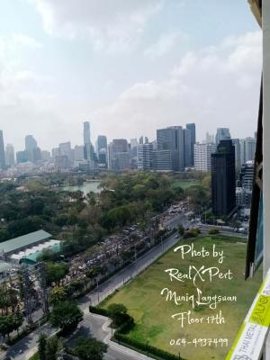 For SaleCondoWitthayu,Ploenchit  ,Langsuan : (Owner post) Selling Muniq Langsuan, Suan Lum view, photos from the real room!