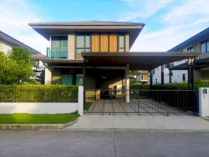 For SaleHouseBangna, Lasalle, Bearing : House for sale Burasiri Bangna Village (Sansiri Group)