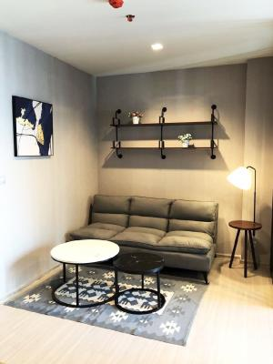 For RentCondoRama9, RCA, Petchaburi : For rent, Life Asoke Rama9, new room, 🍁32 sqm, 15000 baht only, very cheap.