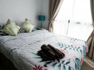 For RentCondoBangna, Lasalle, Bearing : Condo for rent, beautiful room, ready to move in All appliances, Notting Hill, Sukhumvit 105, 26.16 sq m. Ready to visit.