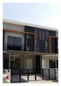 เช่าทาวน์เฮ้าส์/ทาวน์โฮมพัฒนาการ ศรีนครินทร์ : RSH319 ให้เช่า ทาวเฮ้าส์ 2ชั้น  3 ห้องนอน หมู่บ้าน เดอะคอนเนค พัฒนาการ 44  เช่า27,000 บ/ด