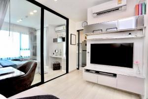 เช่าคอนโดพระราม 9 เพชรบุรีตัดใหม่ : 💕 ให้เช่าห้องแต่งสวย คอนโด Life Asoke 🚅 ติด MRT เพชรบุรี ราคาต่อรองได้ 1 ห้องนอน พร้อมเข้าอยู่ได้เลย