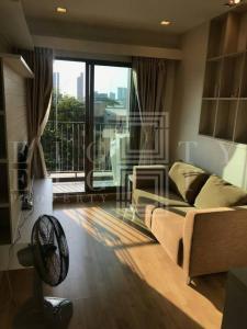 เช่าคอนโดพระราม 9 เพชรบุรีตัดใหม่ : For Rent Casa Condo Asoke-Dindaeng (30.6 sqm.)