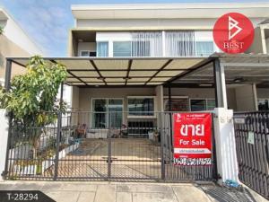 For SaleTownhouseSamrong, Samut Prakan : 2 storey townhouse for sale, Indy 2 Village, Prachauthit 90 (Indy2 Prachauthit90), Samut Prakan.