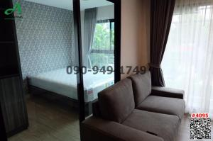 For RentCondoBangna, Lasalle, Bearing : Condo for rent at Villa Lasalle Sukhumvit 105, near BTS Bearing, modern luxury decoration, ready to move in, free wifi, convenient transportation