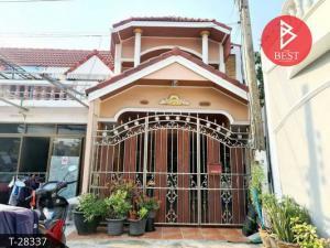 For SaleTownhouseSamrong, Samut Prakan : 2 storey townhouse for sale, Chat Narong Village, Praksa, Samut Prakan, ready