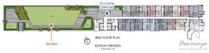 Sale DownCondoSamrong, Samut Prakan : Resale down payment Supalai Veranda Sukhumvit 117, 33th floor, size 41 sqm.