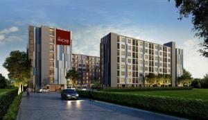 For RentCondoBang kae, Phetkasem : The Niche ID Bang Khae ready to move in, 28 sqm, prices start at 6000 baht.