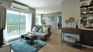 For SaleCondoPinklao, Charansanitwong : Condo for sale Dcondo Tann Charan (D Condo Than Charan) size 55.20 Sq.m 2 bed 2 bath price only 5.19 MB !!!