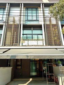 For RentHouseRama5, Ratchapruek, Bangkruai : Townhome for rent with furniture, Flora Wong Sawang - 4 bedrooms, fully furnished.
