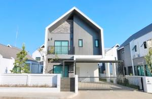 เช่าบ้านเชียงใหม่ : 0095-Q🥁 RENT ให้เช่า บ้านเดี่ยว 2 ชั้น,🚪4 ห้องนอน🚅ใกล้เซ็นทรัลเชียงใหม่🏦นอร์เดนบาร์น ฮาบิต้า แม่โจ้ Norden Barn Habita Maejo🗝บ้าน:60.00ตร.วา🗝พื้นที่:186.00ตร.ม.💲เช่า:22,000.-บาท📞065-9423251✅ID:newnormalrealtybkk