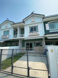 For RentTownhouseBangna, Lasalle, Bearing : For Rent • Indy 2 Bangna Km 7 • Behind Mega Bangna Never been rented before