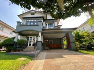 For SaleHouseOnnut, Udomsuk : 2 storey detached house for sale, 89 sq m. Village Nantawan Soi Wachiratham Sathit 57 (On Nut 44)