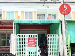 For SaleTownhouseSamrong, Samut Prakan : 2-storey townhouse for sale, Kittinakorn Village, Bang Phli-Lat Wai, Samut Prakan.