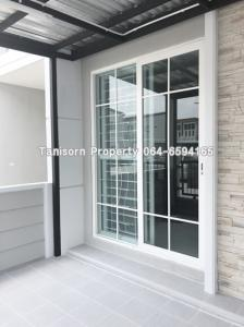 For RentTownhouseVipawadee, Don Mueang, Lak Si : Urgent !! 2-storey townhome for rent, 4 bedrooms, 3 bathrooms. (Very new house) near Don Muang airport