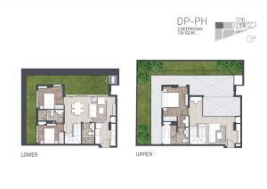 ขายคอนโดวิทยุ ชิดลม หลังสวน : ขาย 3 ห้องนอน Duplex Penthouse คอนโด Craft เพลินจิต ใกล้ BTS เพลินจิต โทร.062-339-3663