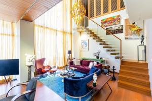 ขายคอนโดสาทร นราธิวาส : ขายคอนโด The Sukhothai Residence ขนาด 114.83 Sq.m Duplex 1 bed 2 bath ราคาเพียง 47.79 MB เท่านั้น!!!!