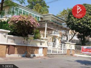 For SaleHouseOnnut, Udomsuk : House for sale, Nantawan Sukhumvit, Soi On Nut 44, corner 101 sq.w., Bangkok.