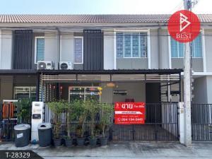 For SaleTownhousePattanakan, Srinakarin : Townhouse for sale, Pruksa Ville 66/2 Bangna-Nam Daeng, Samut Prakan.