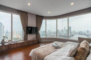 เช่าคอนโดพระราม 3 สาธุประดิษฐ์ : Menam Residence (แม่น้ำ เรสซิเดนซ์) ให้เช่า 160,000 บาท/เดือน (Code : #Daisy-01)