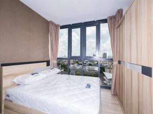 For RentCondoRama9, RCA, Petchaburi : For rent, Condo The Base Garden Rama9, Floor 12A, View Airport Link Fully Furnish