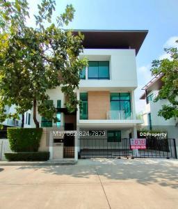ขายบ้านพัฒนาการ ศรีนครินทร์ : ขายถูก บ้านเดี่ยว Nirvana Beyond ศรีนครินทร์ สวนหลวง ร.9 บ้านใหม่ไม่เคยเข้าอยู่