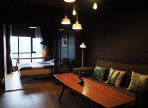 For RentCondoRama9, RCA, Petchaburi : for rent Aspire rama9 type sky living best price 16k 📍
