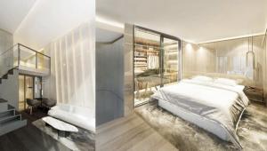 ขายดาวน์คอนโดเกษตรศาสตร์ รัชโยธิน : ขายขาดทุน !!!  Knightsbridge Space Ratchayothin ขนาด 37.57 Sq.m Loft style 1 bed 1 bath ราคาเพียง 4.79 mb!!!!!