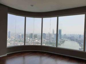 ขายคอนโดพระราม 3 สาธุประดิษฐ์ : ขายคอนโด MENAM Residence ขนาด 160 Sq.m 3 bed 3 bath ราคาเพียง 36.5 MB เท่านั้น !! Floor 35+