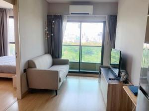For RentCondoRama9, Petchburi, RCA : Condo for rent, beautiful room, ready to move in Electrical appliances Lumpini Suite Phetchaburi-Makkasan 27 sqm. Ready to visit.