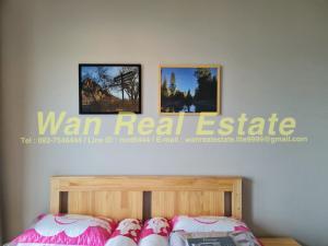 For RentCondoRattanathibet, Sanambinna : Condo for rent, politan aqua, 12th floor, size 30 sq m, fully furnished, river view, garden, new room, never entered.