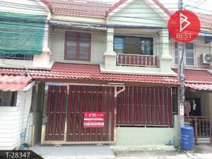 For SaleTownhouseSamrong, Samut Prakan : Townhouse, Wiset Suk Nakorn Village 16, Pracha Uthit 90, Samut Prakan.