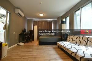 For SaleCondoRangsit, Patumtani : Sale D Condo Campus Rangsit by Sansiri Phase 2 Building B beautiful room ready to move in. Not hot during the day