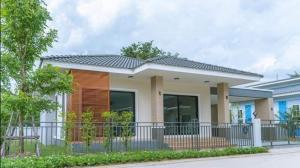 For SaleHouseBangbuathong, Sainoi : Single storey house, resort style, Sai Noi - Nonthaburi.