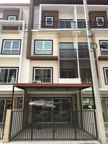 For RentTownhouseLadkrabang, Suwannaphum Airport : 4-storey townhome for rent, On Nut area, Lat Krabang, Prathana-Biz Home 2. On Nut - Suvarnabhumi