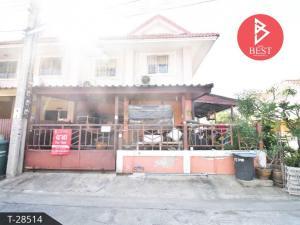 For SaleTownhouseSamrong, Samut Prakan : 2 storey townhouse for sale, Pruksa 34, Phra Samut Chedi, Samut Prakan