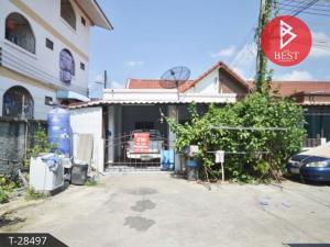 ขายทาวน์เฮ้าส์/ทาวน์โฮมพัทยา บางแสน ชลบุรี : ขายถูก ทาวน์เฮ้าส์ชั้นเดียว หมู่บ้านน้ำทิพย์ ถนนไร่หนึ่ง-หนองขาม อ.ศรีราชา จ.ชลบุรี