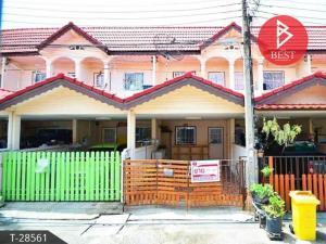 For SaleTownhouseSamrong, Samut Prakan : Quick sale, 2 storey townhouse Chat Narong Village, Soi Praksa 7, Samut Prakan