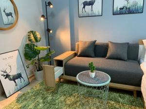 For SaleCondoOnnut, Udomsuk : M3266-for sale Condo Elio Sukhumvit 64, near BTS Punnawithi, corner room, fully furnished, ready to move in.